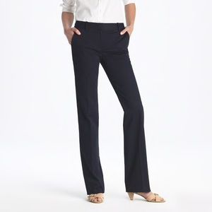 J.Crew | Cafe Trouser black wool dress pants